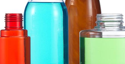 Pvc plastic bottles