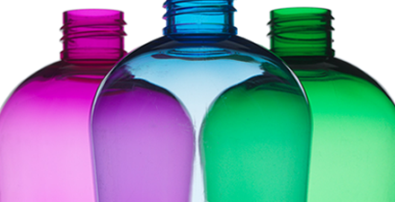 PET Round bottles