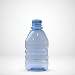 Flat & Oval bottle